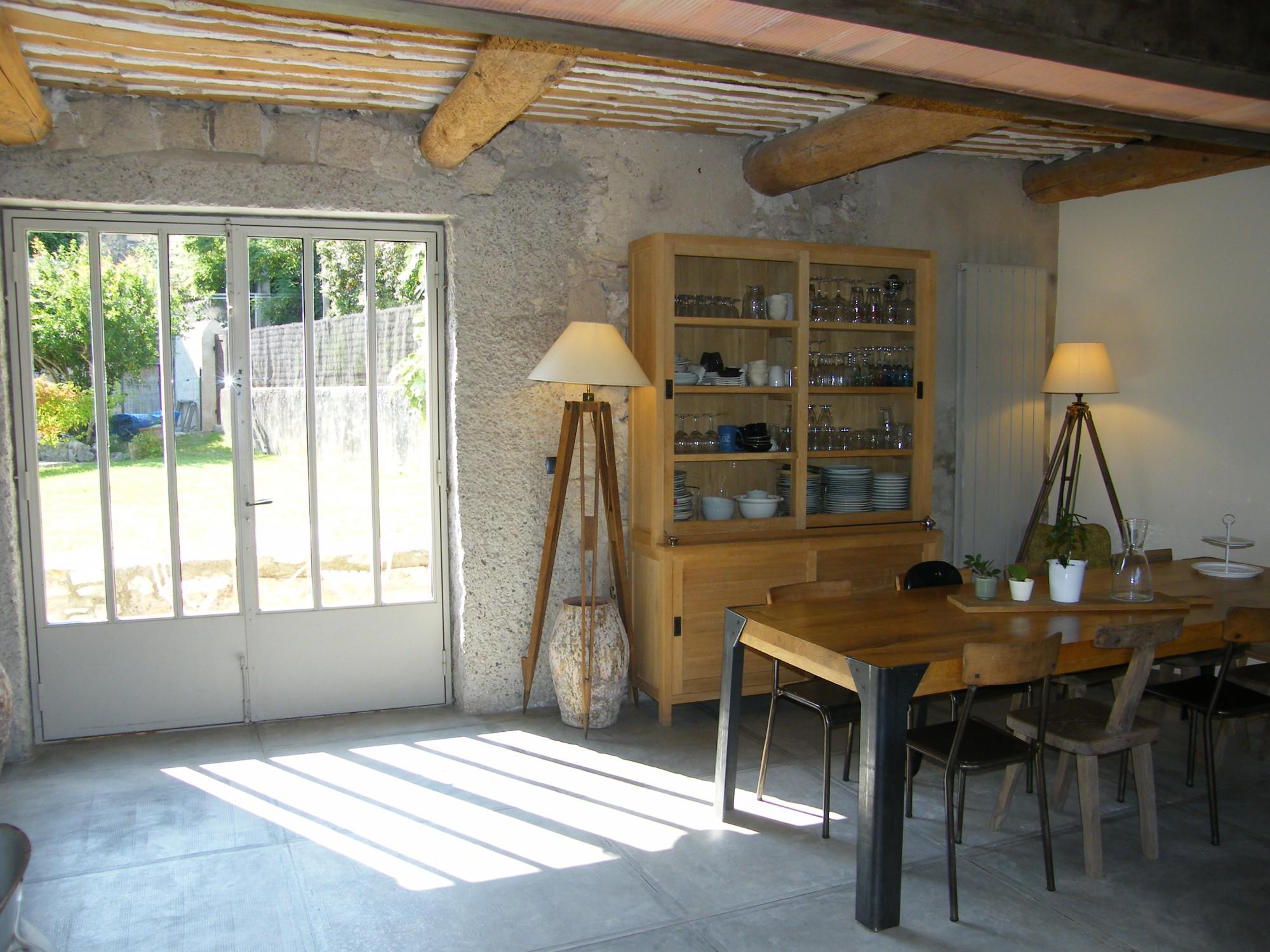Achat maison de village robion