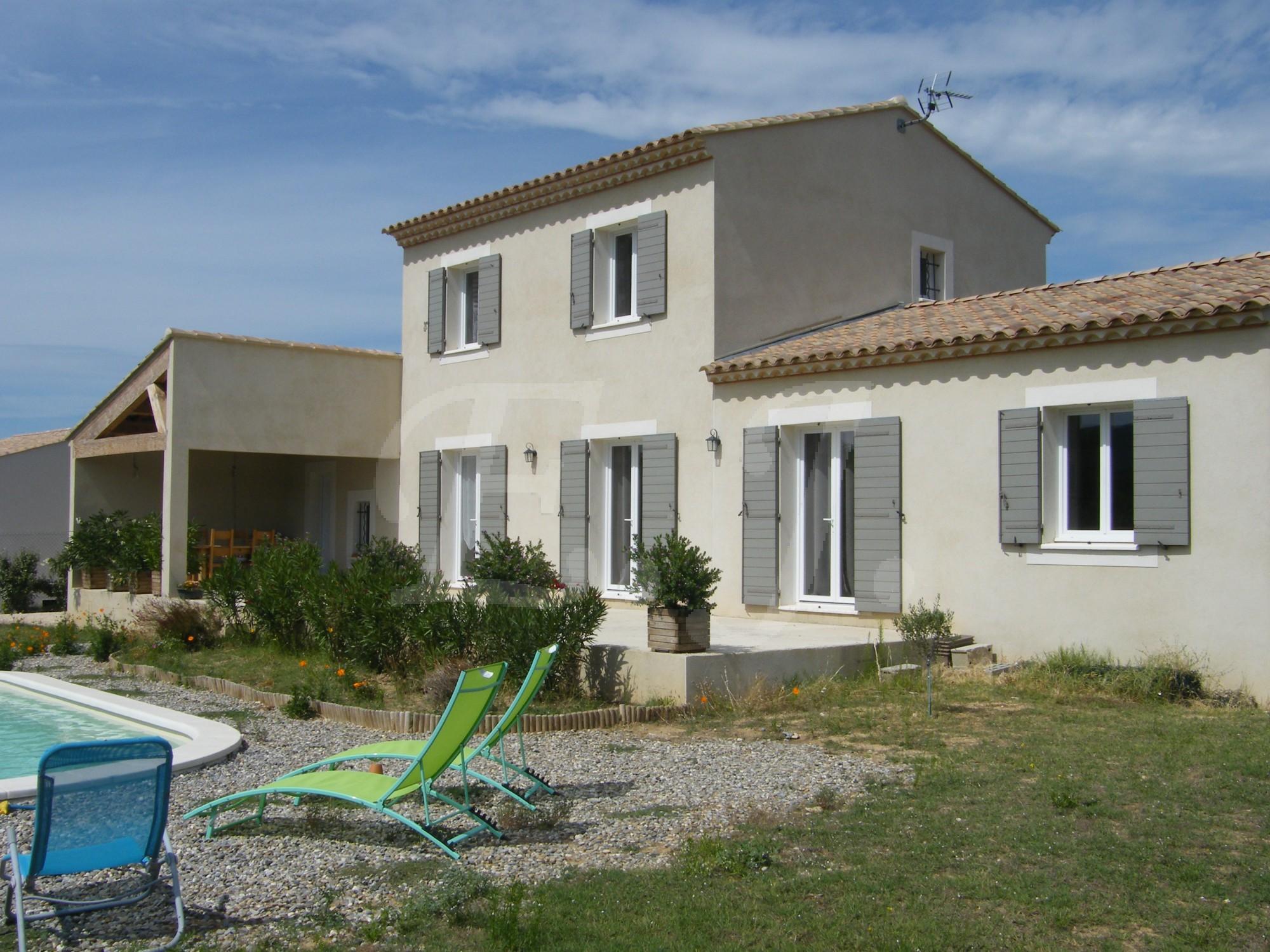 Ventes villa t5 f5 gordes maison r cente proche de gordes for Vente maison recente