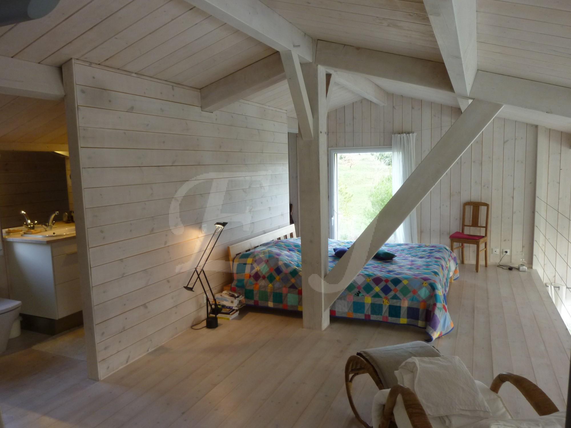 Escale Immobiliere vente maison en bois dans le Luberon 84