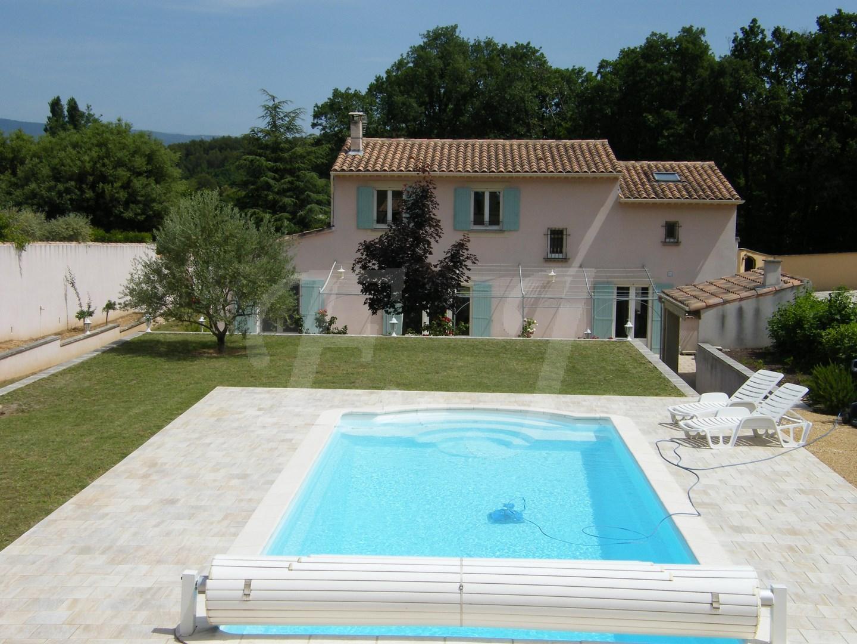 Ventes villa t6 f6 maubec sur un terrain face au luberon avec piscine et garage double maison et - Compromis de vente garage ...