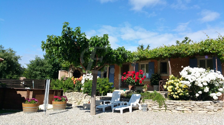 Ventes villa t4 f4 saint pantal on proche gordes garage double piscine maison et villa vendre At home architecture gordes 84