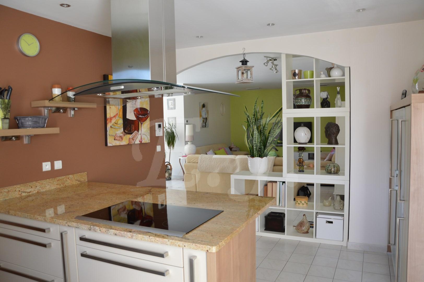 ventes villa t5 f5 maubec villa de plain pied type 5 en parfait tat maison et villa vendre. Black Bedroom Furniture Sets. Home Design Ideas