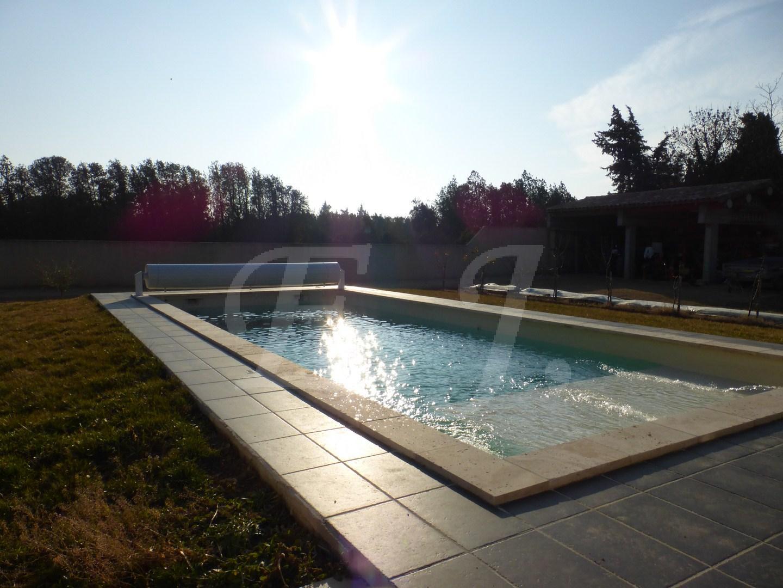 maison piscine luberon