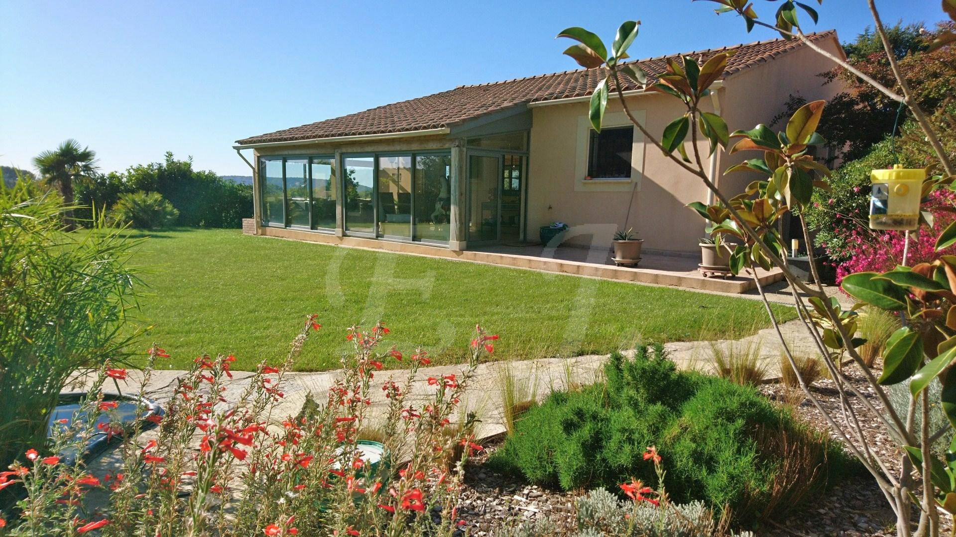 Vente propriété avec piscine Oppède - L\'Escale Immobilière