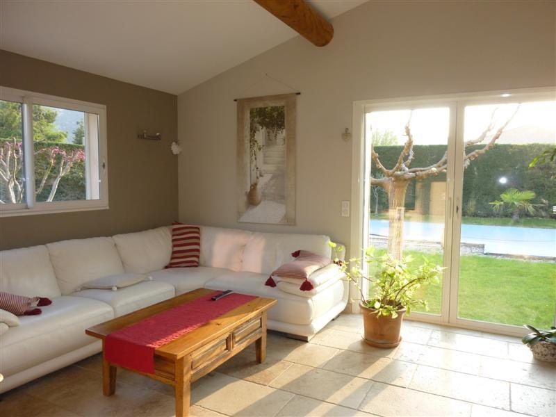 Vente Maubec maison contemporaine 4 chambres cheminée piscine pool house vente vaucluse luberon ...