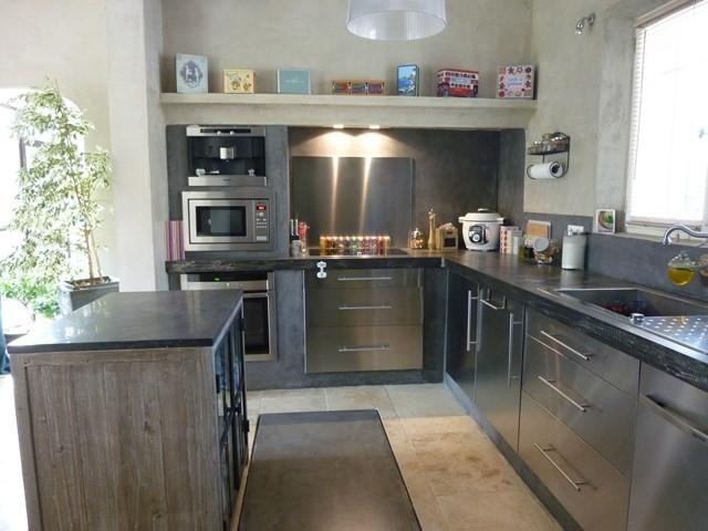 Ventes belle maison moderne avec jardin nich e au calme dans la commune de ca - Belle maison moderne ...