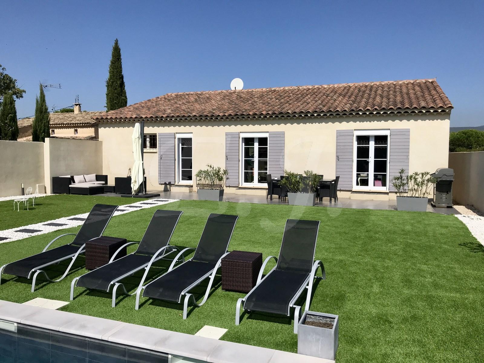 Maisons et villas vendre vers robion agence for Maison traditionnelle 130m2