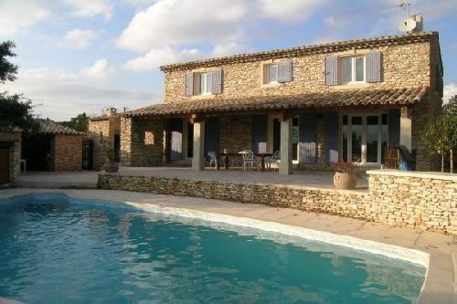 Ventes maison en pierres s ches proche gordes vue luberon - Maison en pierre seche ...