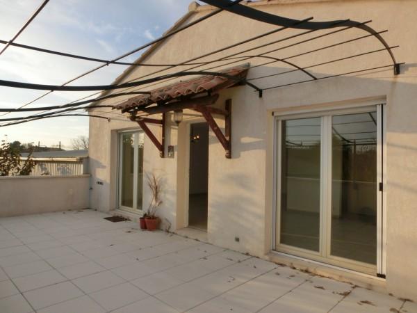 Location d'appartement avec jardin et terrasse au Thor