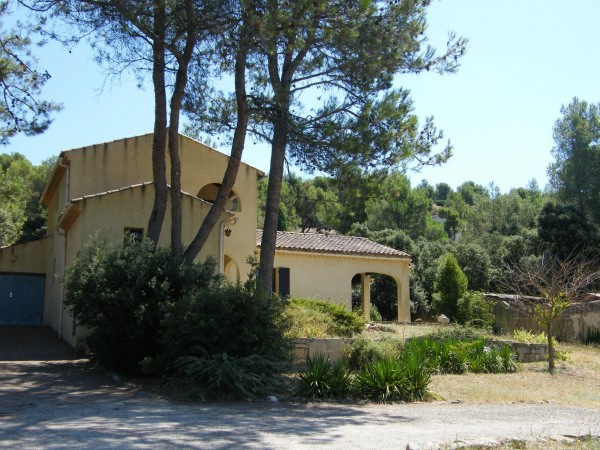 Maison Luberon façade ouest