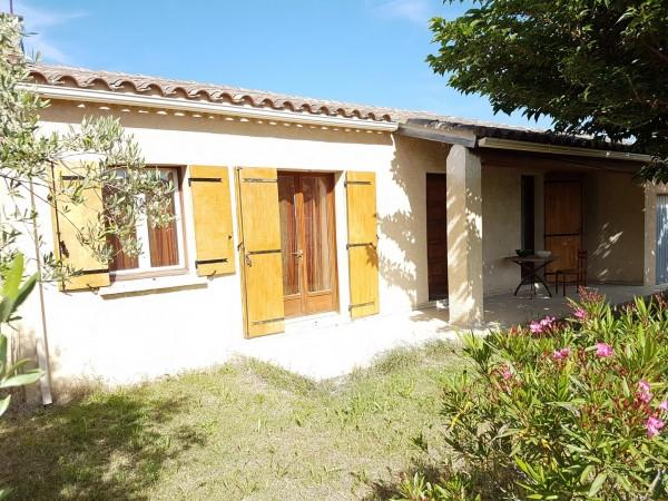 Vente Maison de village T4 Cheval Blanc de plain pied avec 3 chambres jardin clos et garage