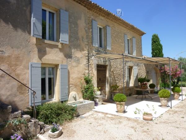 Ventes mas proven al t6 f6 robion 5 chambres maison de gardien piscine terrai - Photo de mas provencal ...