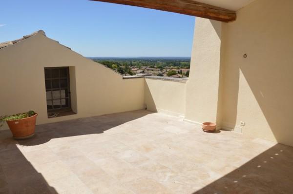 Maison de village avec solarium offrant une vue magnifique